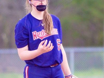 Oneonta pitcher Ashtyn Sligh -Brooke Wilson