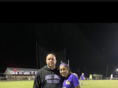 Kristy Cervantes broke the AHSAA all-time assist record with her 41st during the Lady Bulldogs' 7-2 win over Sylvania March 30. -courtesy of Nick Butts