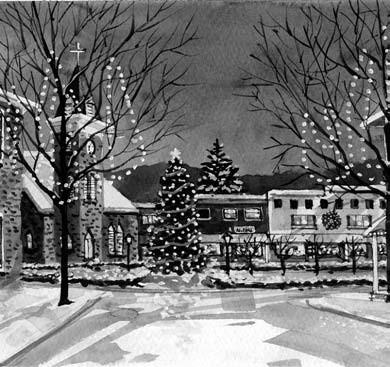 small town christmas - Small Town Christmas