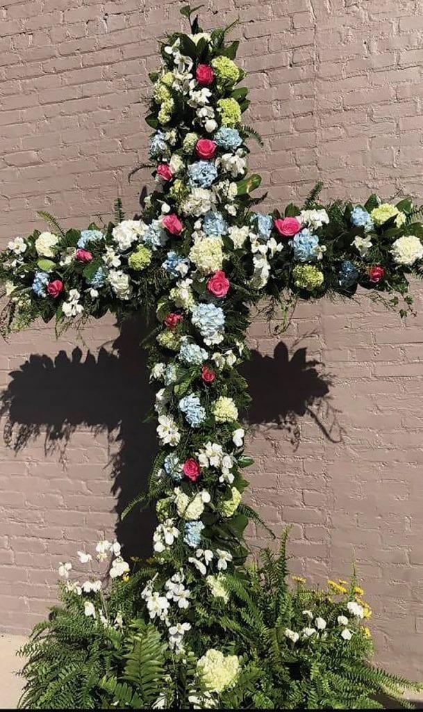 Easter Cross at Redeemer