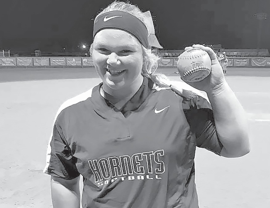 Catcher Anna Hood finishes her senior season with 19 home runs, 61 RBIs, 57 intentional walks, only five strikeouts, and a .693 batting average. Hood is moving on to play softball for Jacksonville State University.
