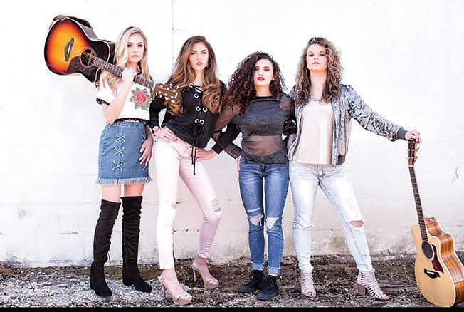 Crossing Dixie will perform Friday night.