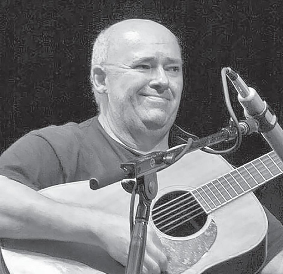 Glenn Tolbert doing what he loved to do. -courtesy Steve Smith