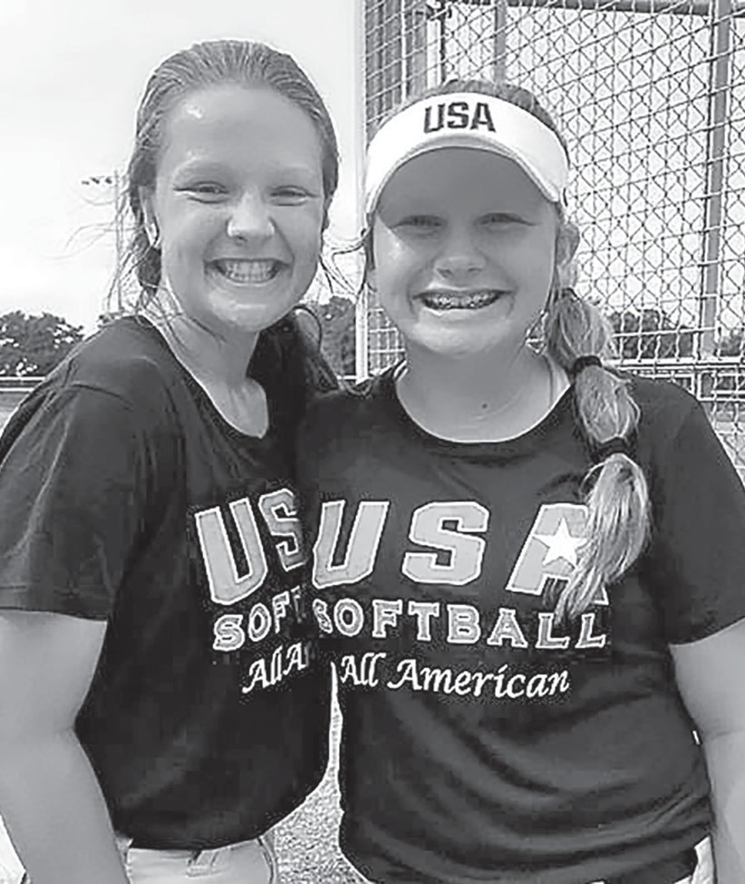 Ansley Armstrong (left) and Miah Simmons -Maria Simmons