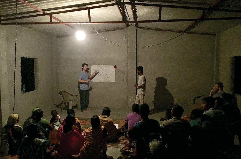 Church looks very different in South Asia where Christians are the minority. -Caleb Hunt