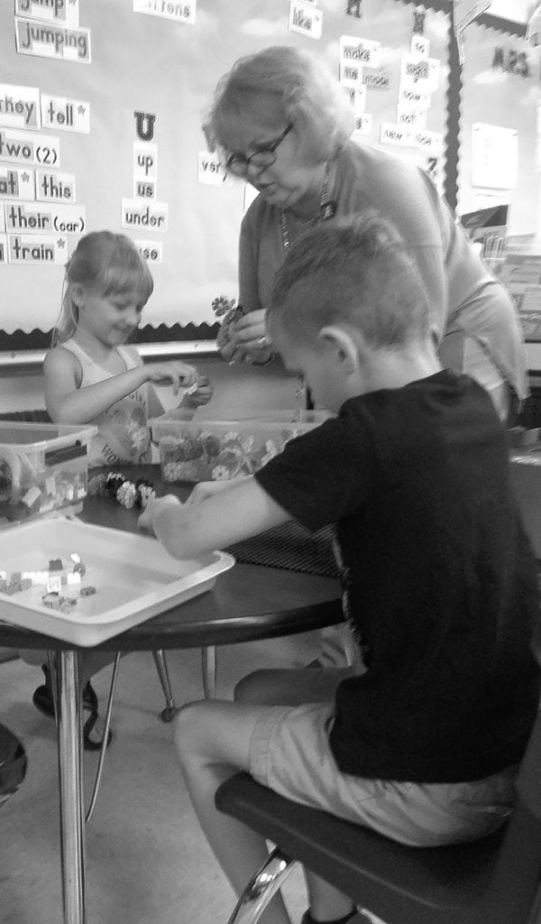 Mrs. Neill's classroom grant provides first graders with multi-sensory, hands-on, active, and child-centered learning experiences. The project allows students to work together to create, build, imagine, and laugh, all while using resources supporting science, technology, engineering, art, and math (STEAM).