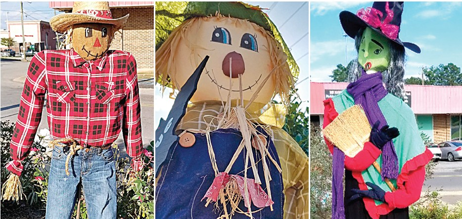 The Amaryllis Garden Club's Scarecrow Garden welcomes visitors to Oneonta. Among their many community projects, the club decorates the garden seasonally. Christmas decorations will go up soon, so make sure you get by to see all the creative scarecrows.