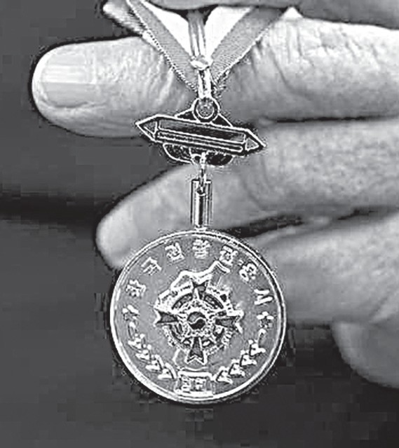 The Republic of Korea encourages all Korean War veterans to apply for the Ambassador for Peace medal. -photo courtesy venangoextra.com