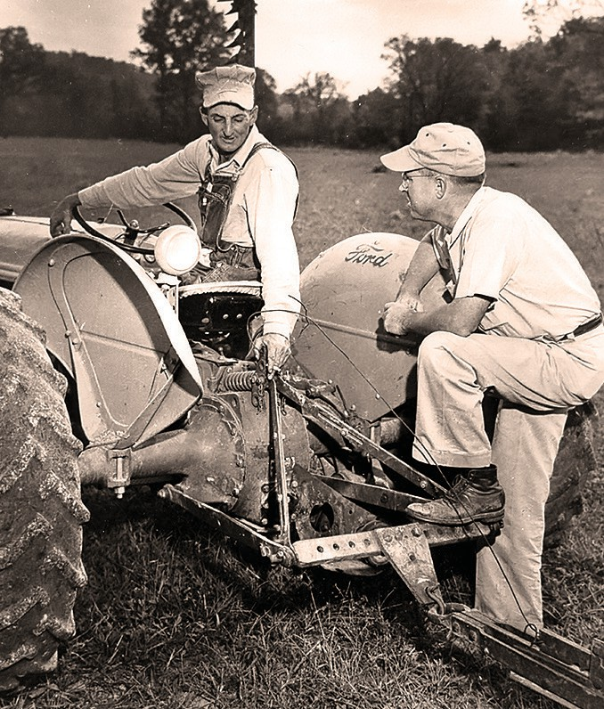 William H. Ward worked with farmers to increase production. -courtesy Bill Ward