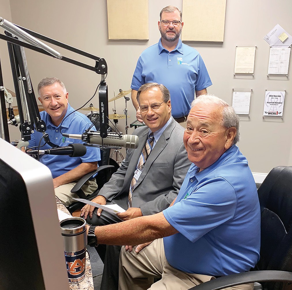 Tune in tomorrow for the annual Blount County Education Foundation Radiothon and hear (front, from left) Les Neel, Rodney Green, Jim Henderson and (back) Gregg Armstrong. -Blount County Education Foundation