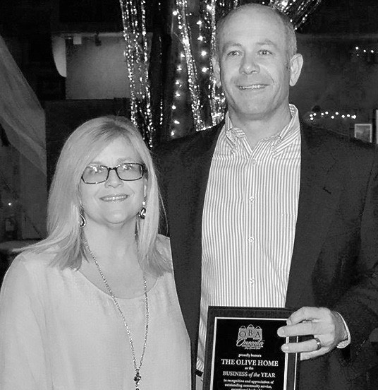 OBA Business of the Year The Olive Home (Trina and Philip Cleveland)