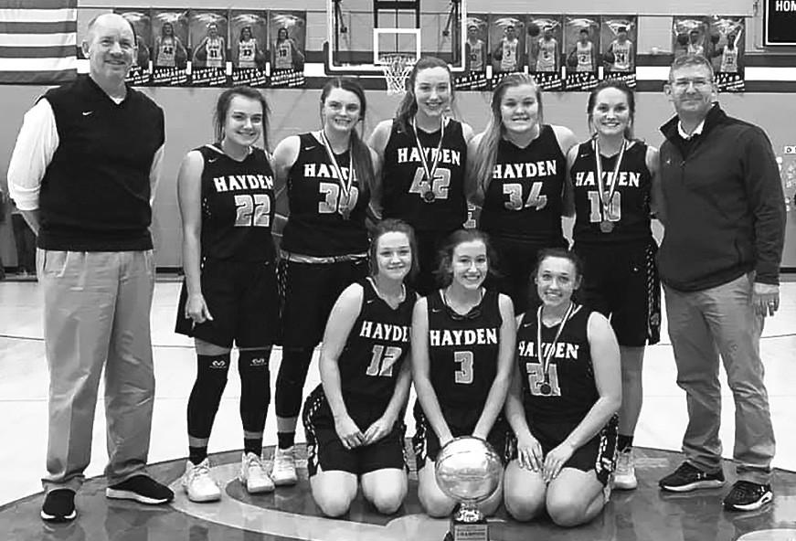 2020 Junior Varsity Girls County Champion - Hayden Wildcats -Facebook   Leslie Smith