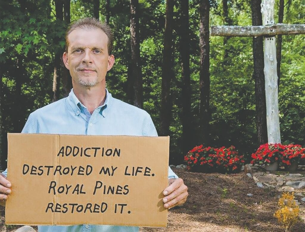 "Derrick's Story: ""Drugs took me from my family. Royal Pines brought me back. Now I live without addiction, and I can look forward to walking my daughter down the aisle."" -Royal Pines Recovery Center 