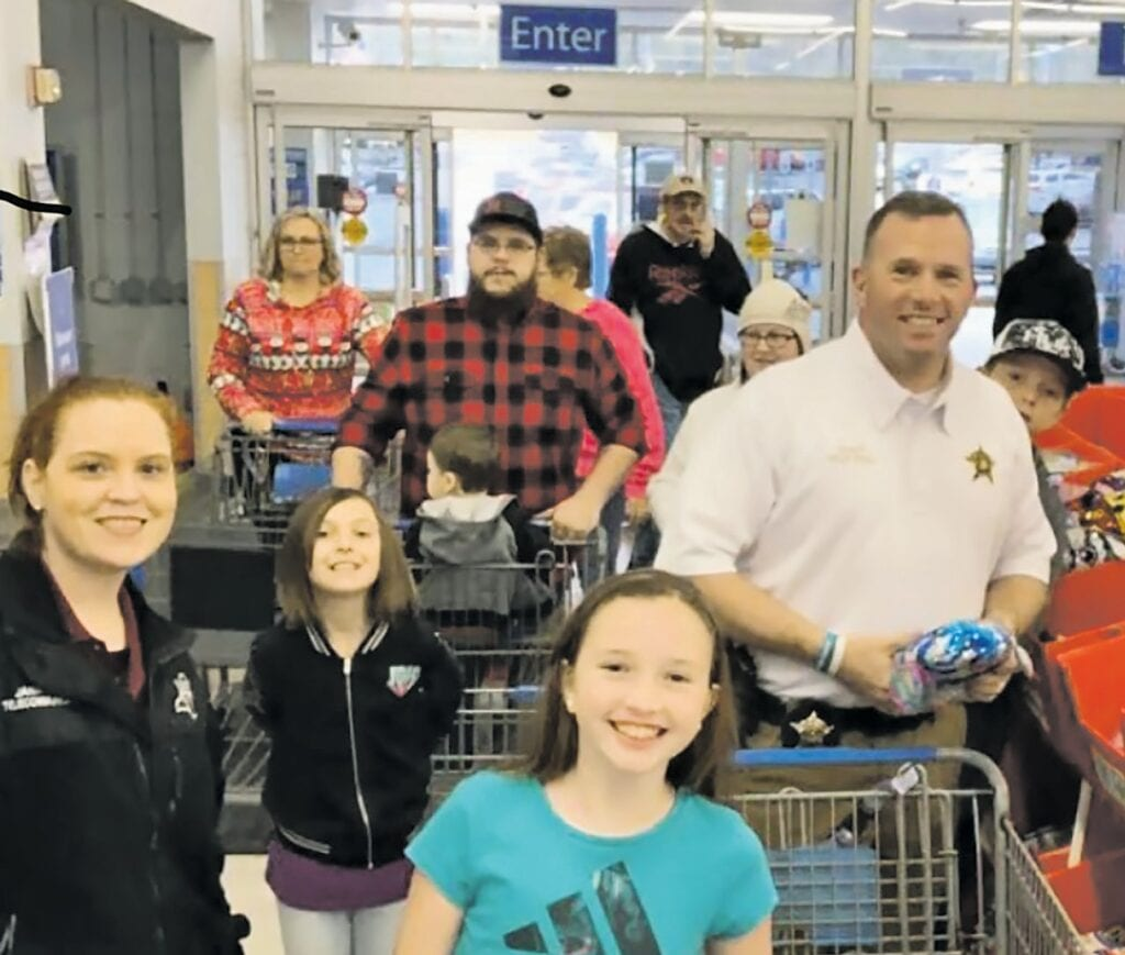 The 2019 Shop with a Hero program was a great success. First responders hope to help even more families this year. -Shop with a Hero - Blount County Christmas | Facebook