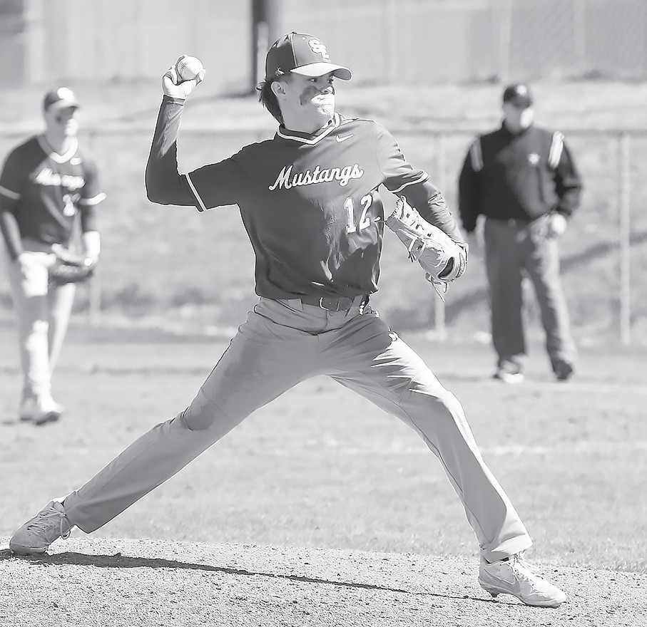 Southeastern's Logan Young lets a pitch fly. -Jeff Sargent