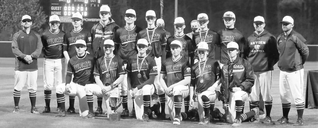 The Hayden Wildcats are 2021 Blount County Baseball Tournament champions. -Jeff Sargent