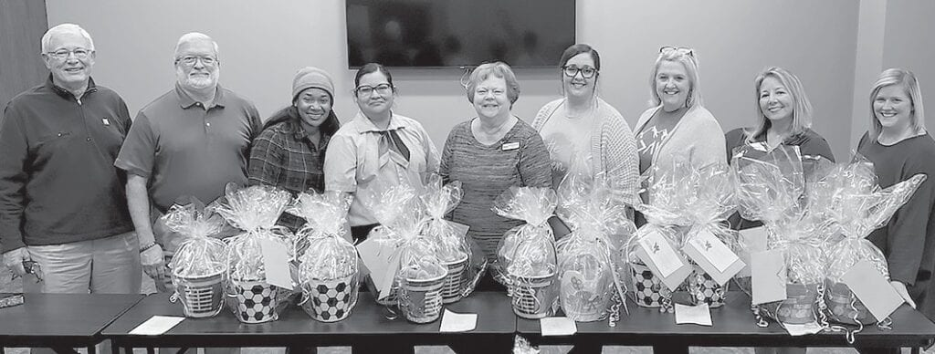 Realtors teamed up with local businesses to make special Easter baskets for each Blount County foster child. -Blount County DHR