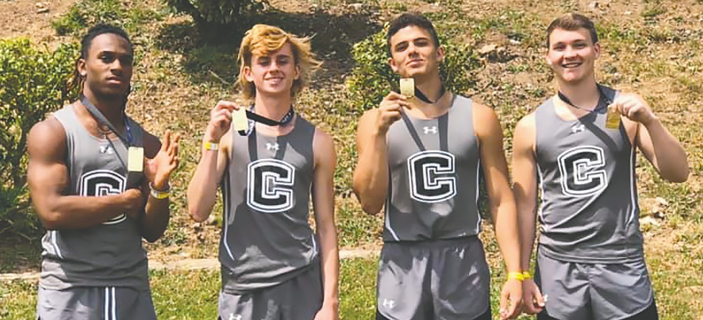 Cleveland's 4x100 relay team (Da'Quarrius Phillips, Bryson Browning, Pierce Gilliland, and Logan Washburn) won gold. Phillips also won gold in the 100 meter dash. -Stephanie Gilliland