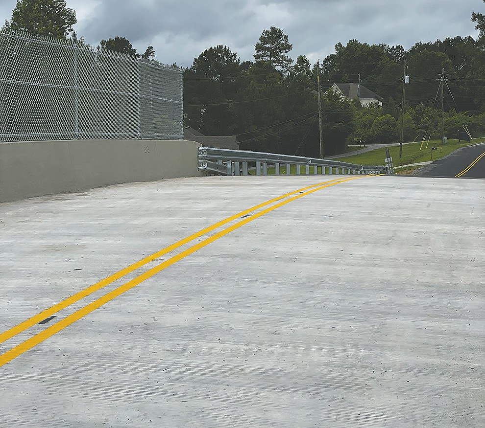 Dean's Ferry Road bridge in Hayden, which was closed in July 2020, is complete and ready for traffic.