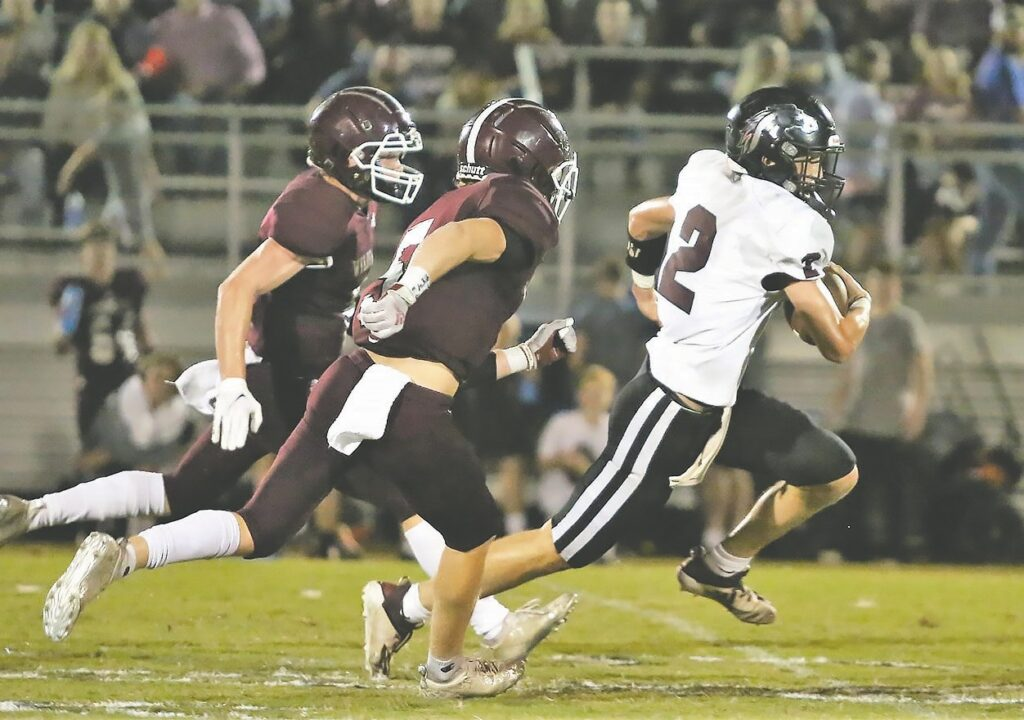Southeastern's Trent Carpenter led the team with 111 rushing yards against Sand Rock. -Jeff Sargent